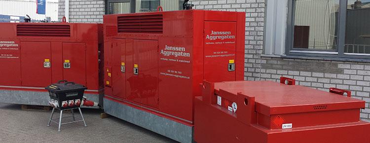 Aggregaten verhuur | F&D Janssen