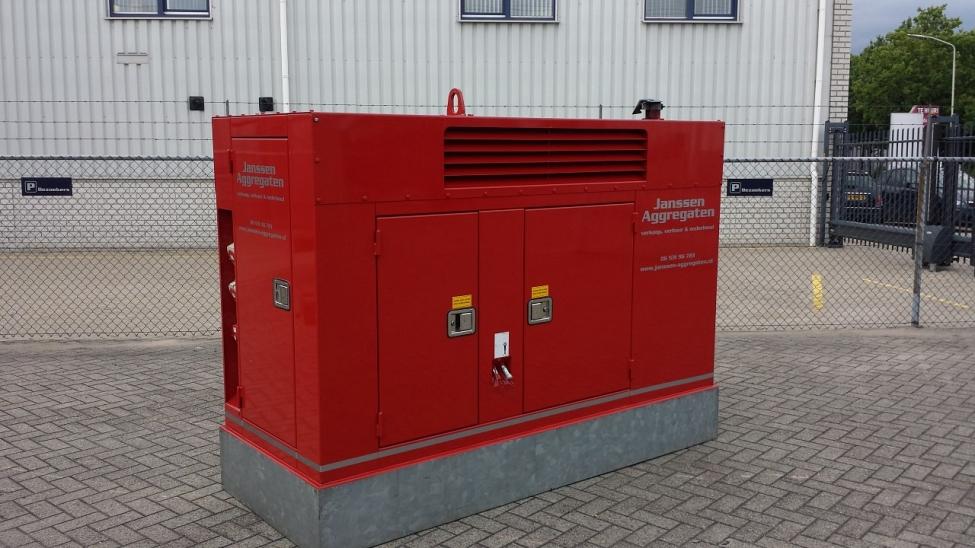 60 kVA aggregaat