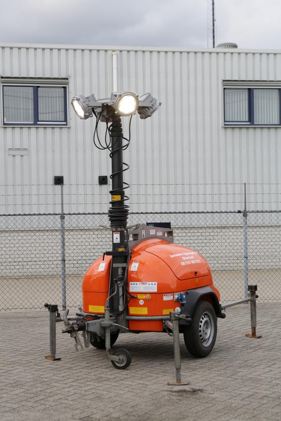 Noodverlichting Mobiele Lichtmasten