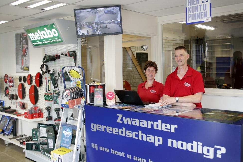 F&D Janssen gereedschap verhuur Oirschot